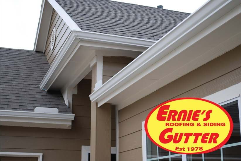 Pin By Ernie S Roofing Siding Gutter On Rain Gutters Denver With Images Vinyl Siding Rain Gutters Roofing
