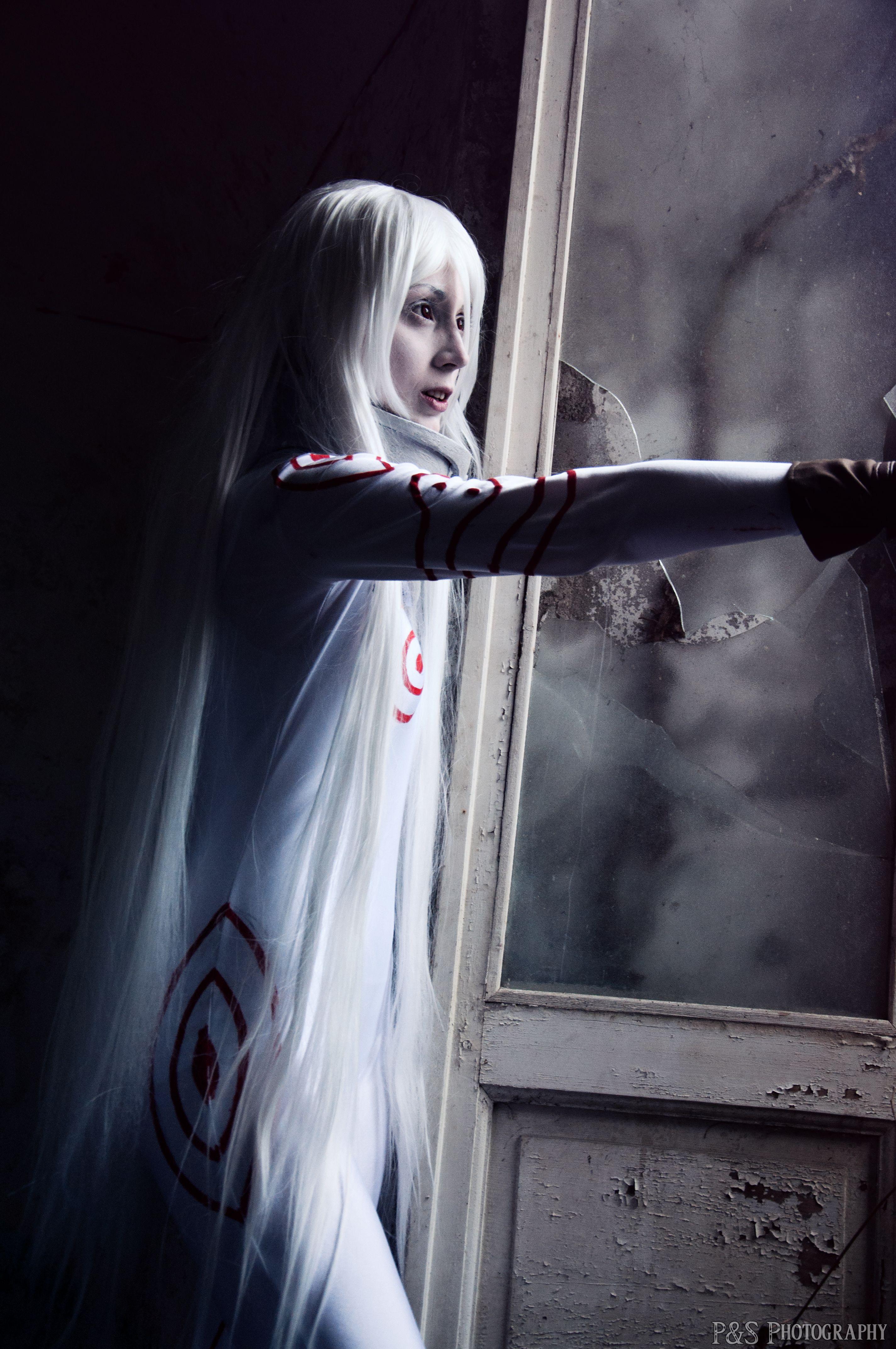 Shiro cosplay as Shiro from Deadman Wonderland © P&S