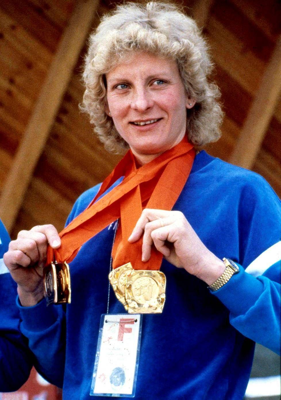 Marja-Liisa Kirvesniemi 7 Olympic medals