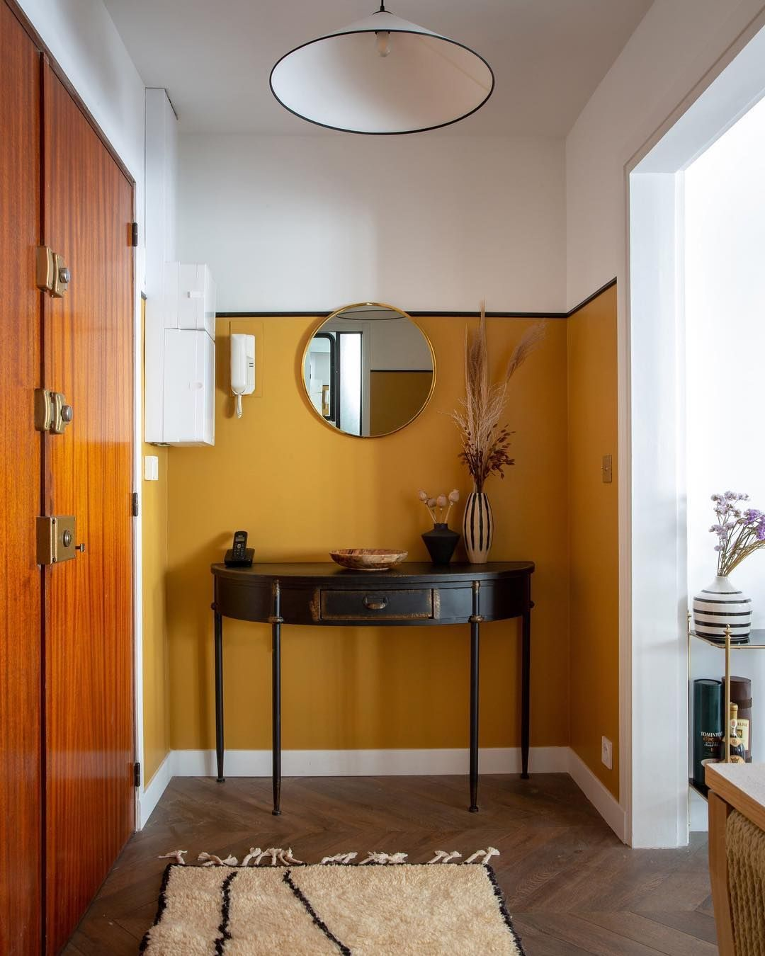 Apartment therapy on instagram this newly renovated paris pied à terre was a labor of love an interior designers ode to her grandfather the original