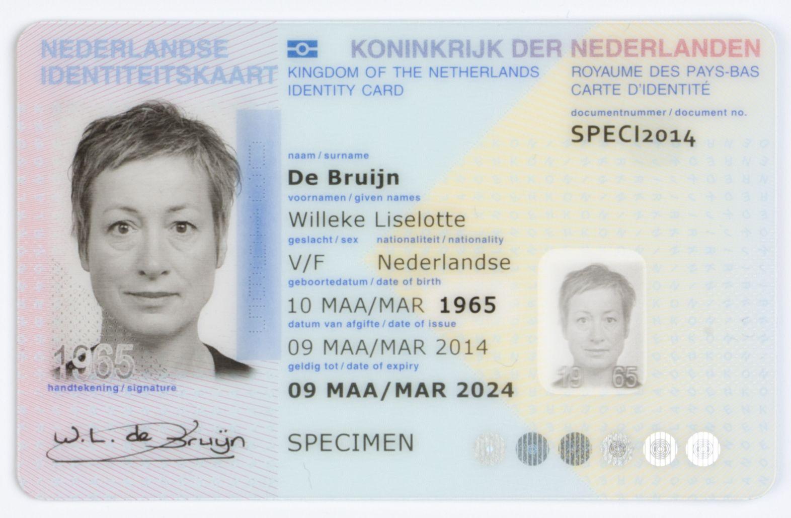 Dutch Identity Card Wikipedia With Regard To Georgia Id Card Template Cumed Org Id Card Template Business Plan Template Card Template