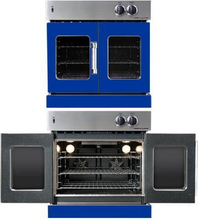 American Range French Door Wall Oven Utilizes Dual Convection Motors To Provide Superior Baking Performance And Ensures Consistent Heat Distribution