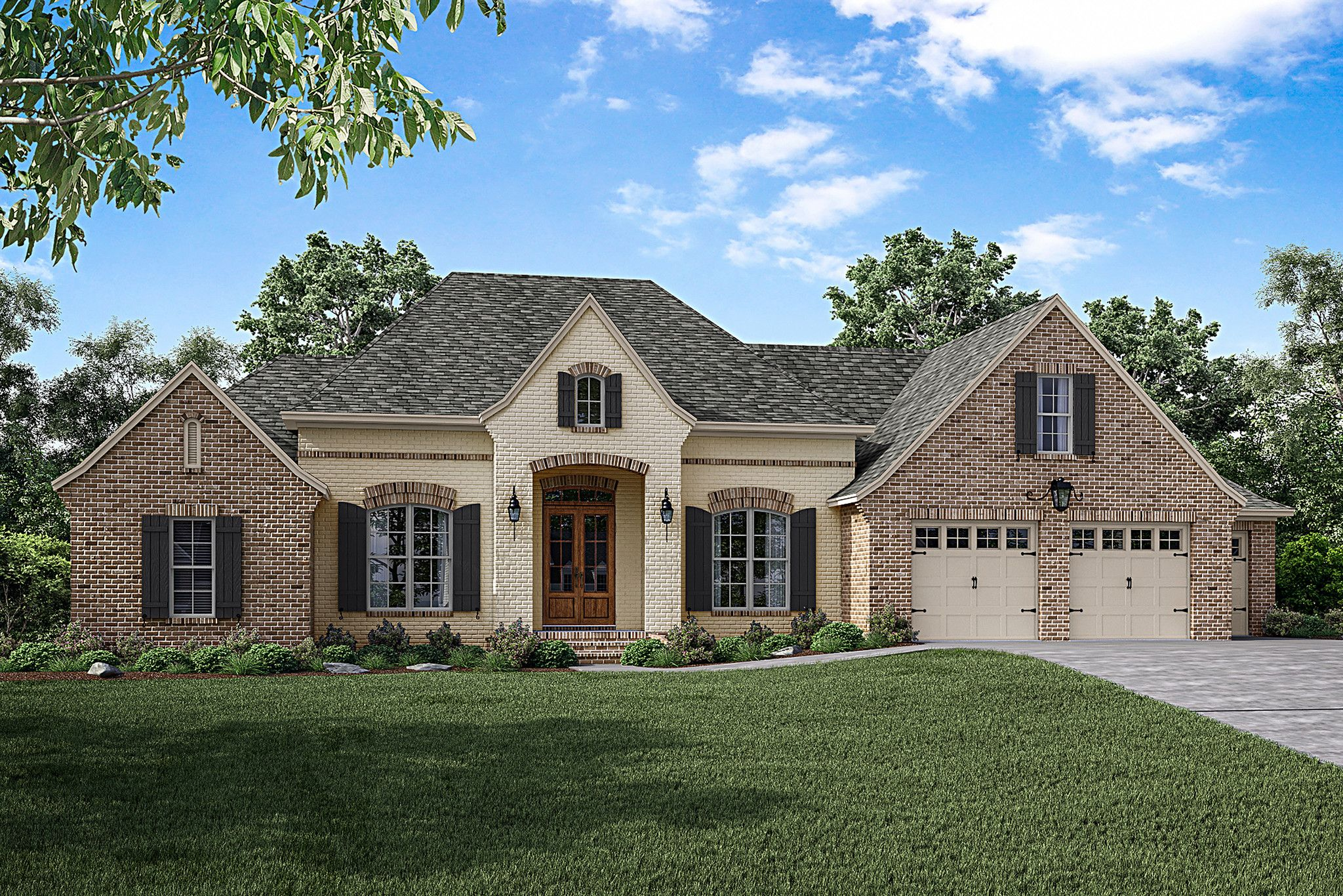 Cypress Pointe House Plan French Country House Country Style House Plans French Country House Plans