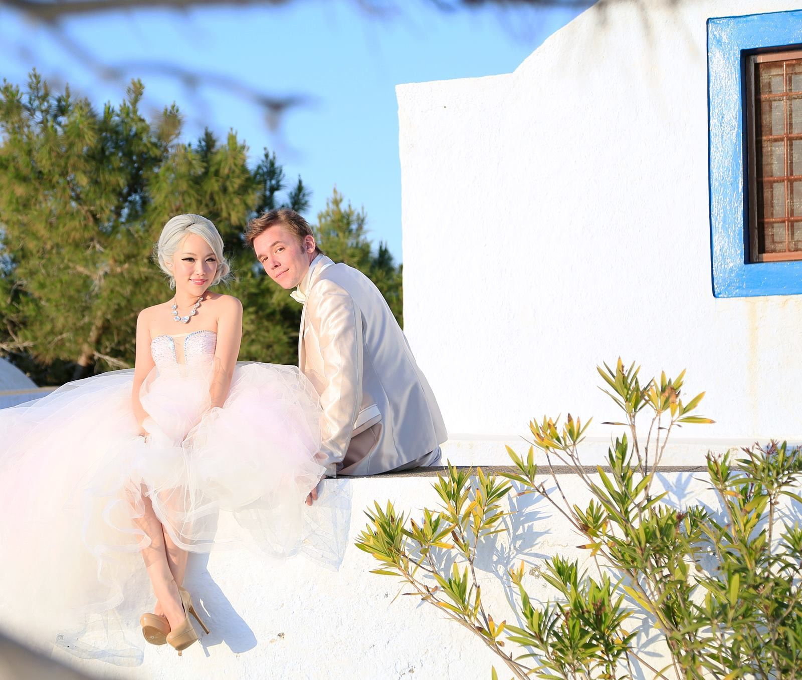 Xiaxue And Michael Pink Gowns Wedding Dresses Wedding Photos