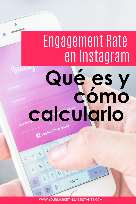 Cómo Calcular El Engagement Rate En Instagram Yourmarketingassistants Instagram Redes Sociales Como Calcular El