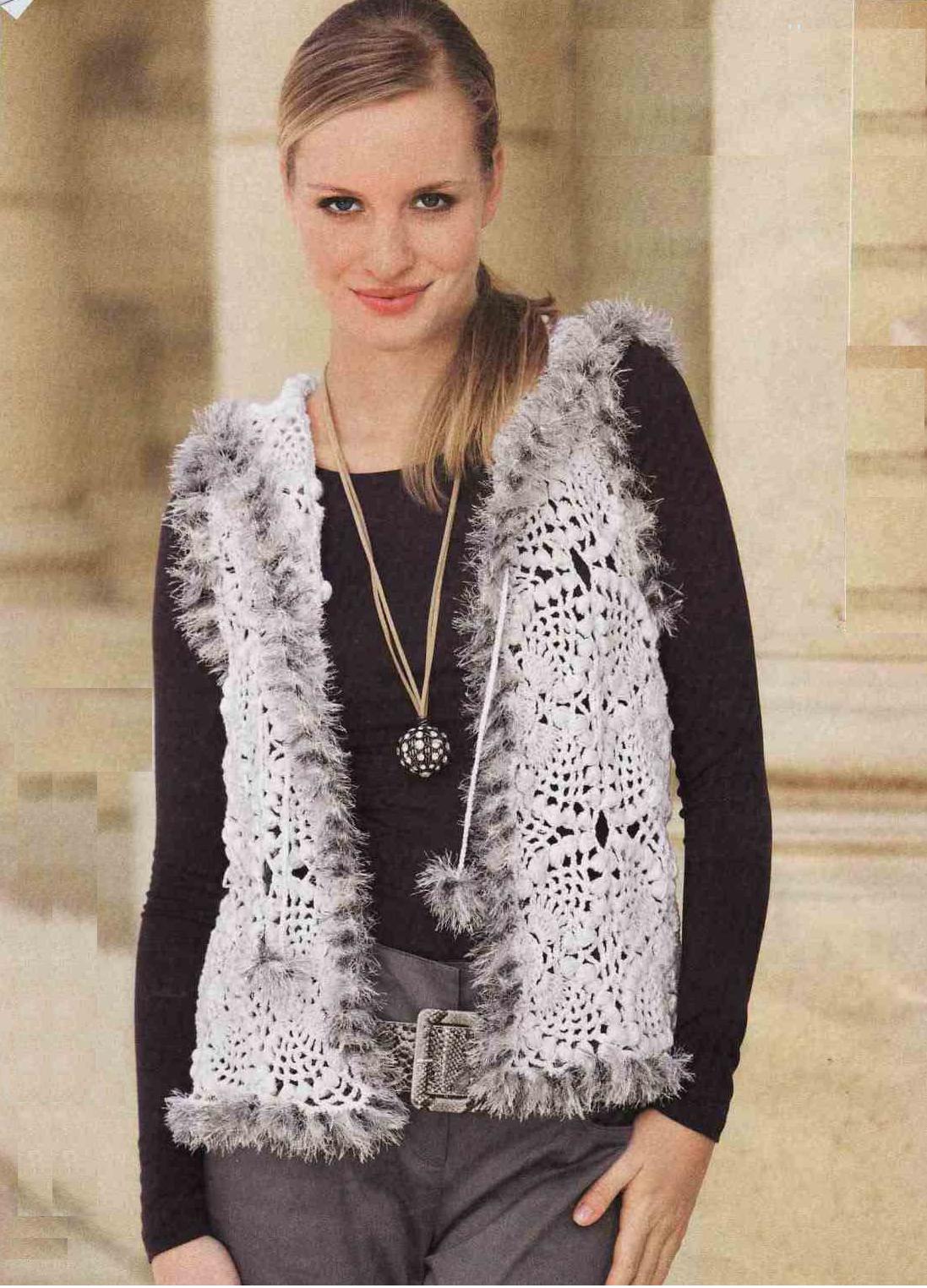 Patrones de Crochet | Chalecos | Pinterest | Patrones de crochet ...