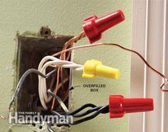 Top 10 Electrical Mistakes   - Ideas for the house  Too many wires stuffed into a box can be potentially dangerous. Check out this tip and others on common electrical mistakes.  - #Electrical #house #Ideas #Mistakes #Top #arduino #arduinodiy #diy #electronics #arduinoprojects #embedded #systems