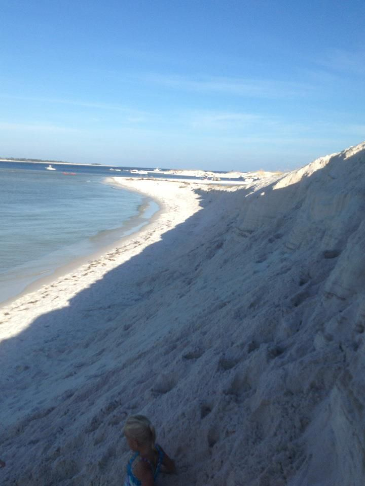 Fort McRee, Near Orange Beach Al, Accessible Only By Boat