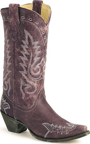 I heart my purple cowgirl boots