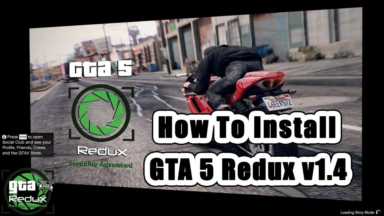 How To Install Redux 1 4 - With Reshade ScriptHook And