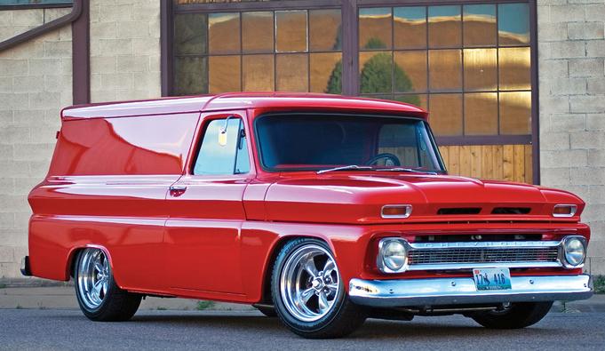 61 Chevy Apache Panel Van Panel Truck Classic Trucks Classic