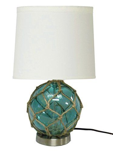 Anese Float Table Lamp With Netting Beach Themed Light Fixture Blue Check Out This Great Product Note Affiliate Link