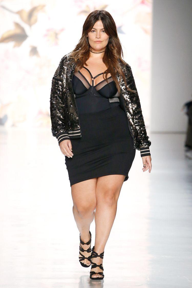 Maria Gimena, Torrid NYFW, Nyfwss18, NYFS, plus size, fierce model ...