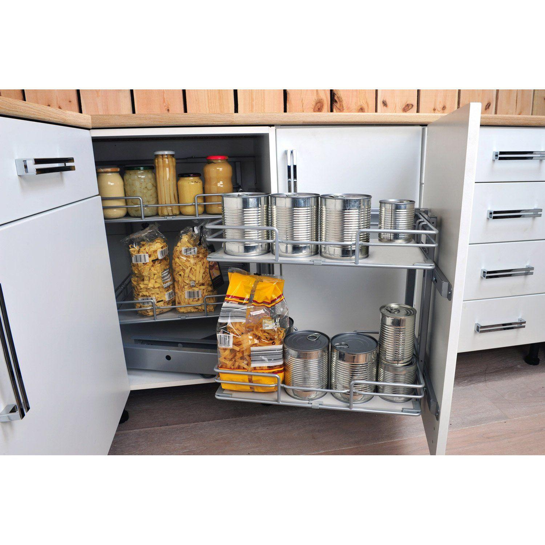 Meuble DELINIA CompatibleAB Angle AN Pinteres - Leroy merlin meubles cuisine pour idees de deco de cuisine
