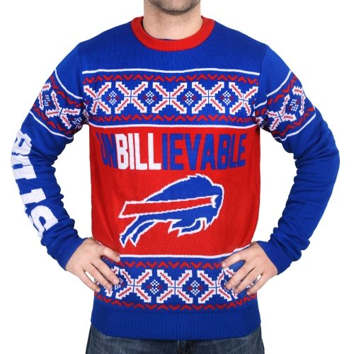 Buffalo Bills Ugly Christmas Sweaters Will Make It The Most Fun
