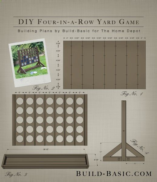 Four in a row yard game project plans by build basic build four in a row yard game project plans by build basic build solutioingenieria Choice Image