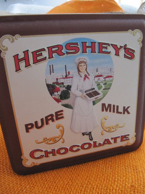 Vintage Hershey's Chocolate Collector's Tin by VintageDelight374