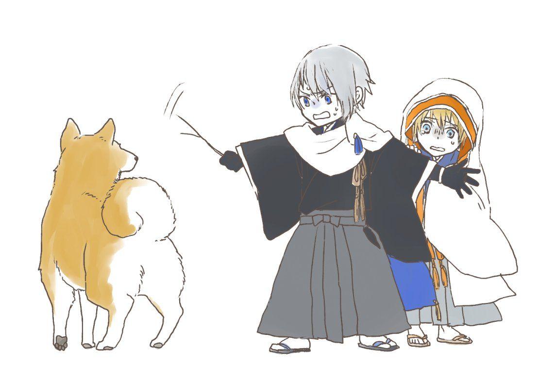 ながなき on twitter touken ranbu chibi anime