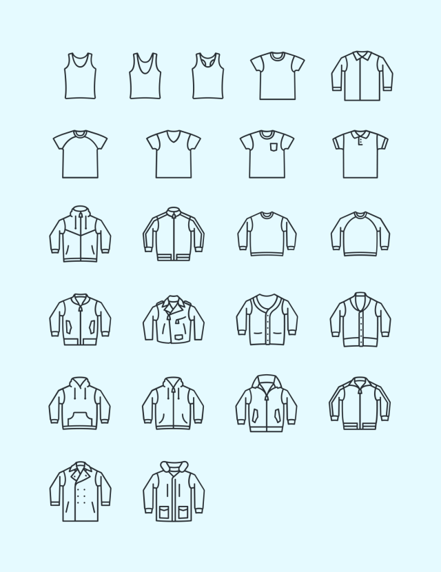 The Best 8 Free Fashion Vector Icon Sets Hipsthetic Icon Set Vector Fashion Vector Icon Set