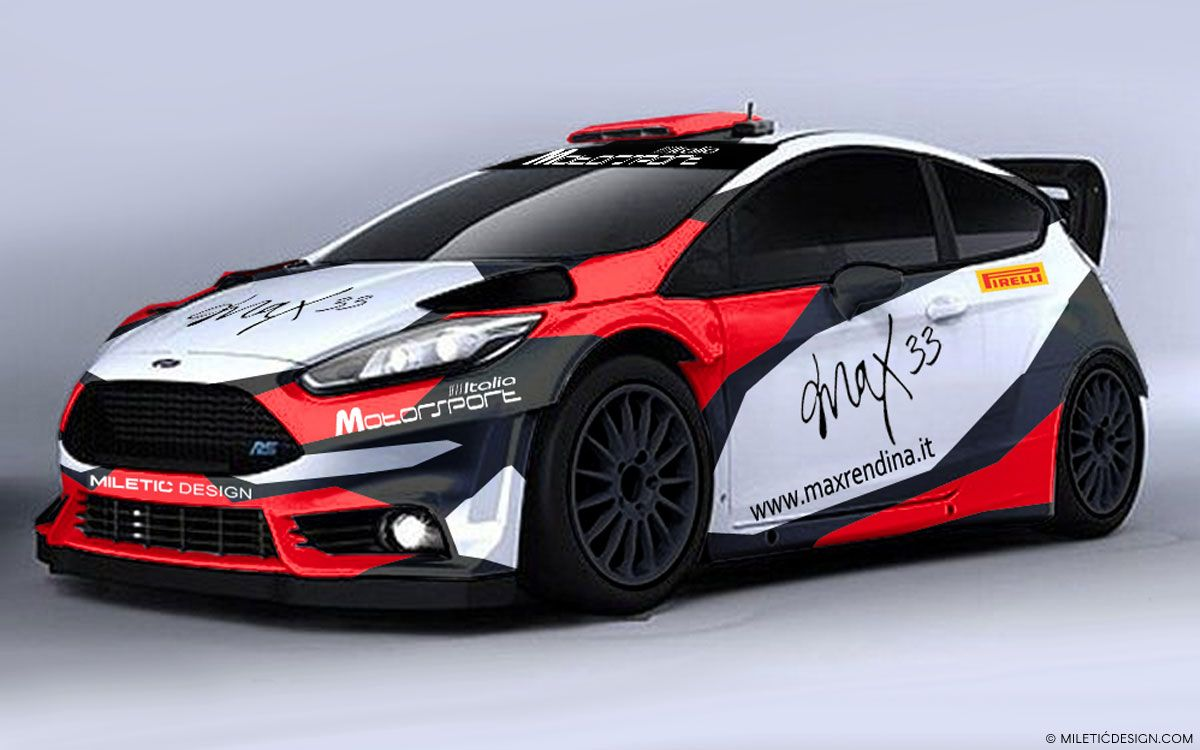 Awesome Work Max 33 Ford Fiesta R5 Livery Design Competition