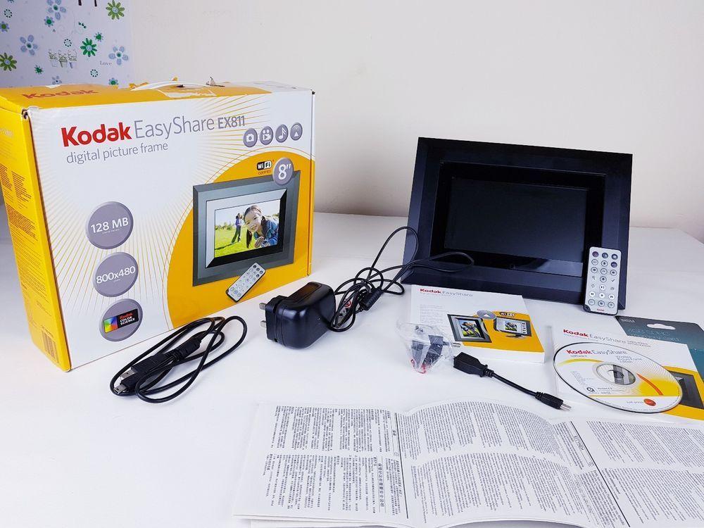 Kodak Easyshare Ex811 8 Digital Picture Frame Remote Control Hardly