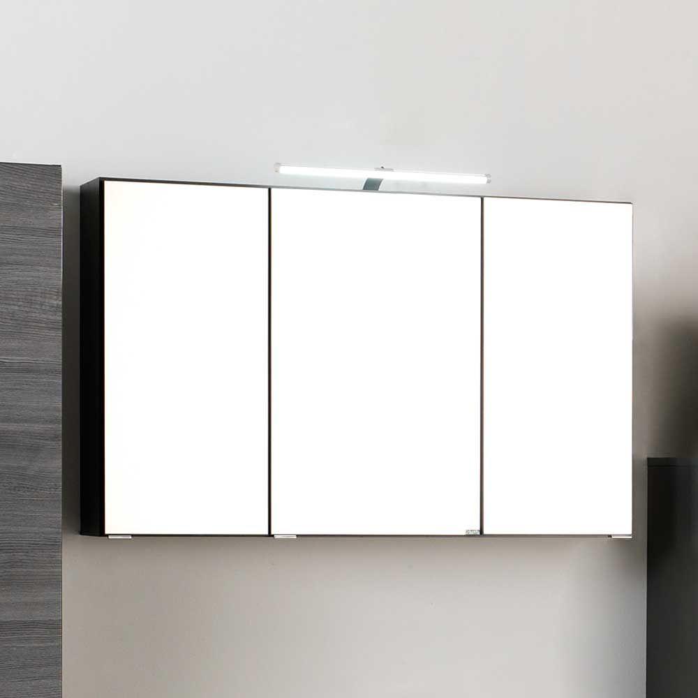 3D Spiegelschrank in Grau LED Beleuchtung Jetzt bestellen unter ...