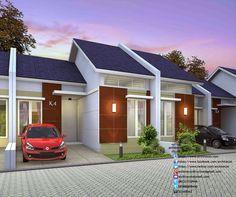 desain rumah minimalis perumahan griya mas sidoarjo - 3d