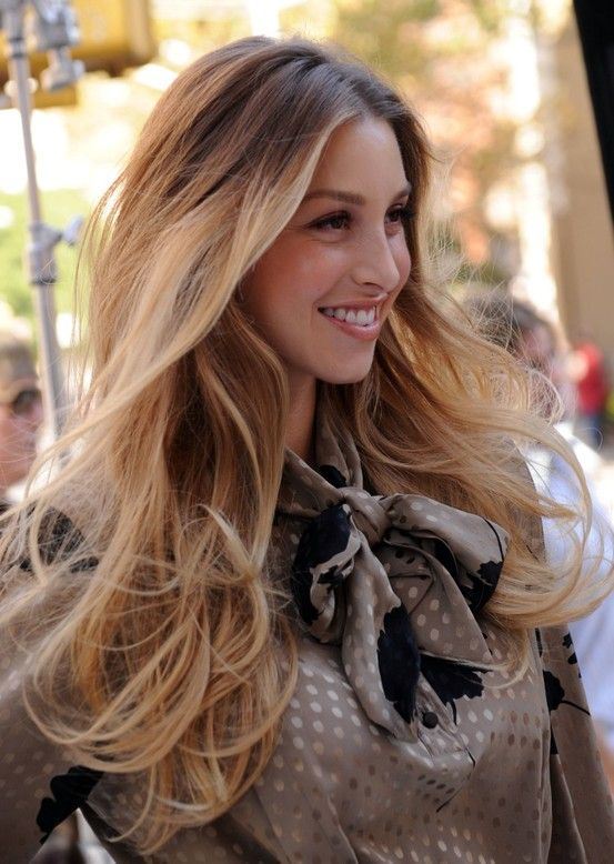 Whitney Port blonde ombre hair. I WANT TO DO THIS