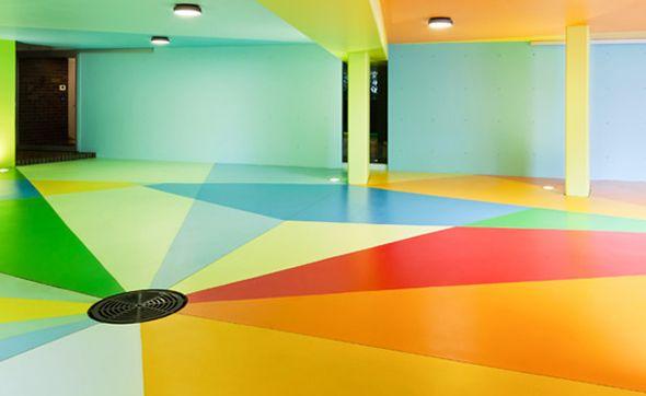 Parking 72dp Coloré Par Craig Et Karl Design Garage
