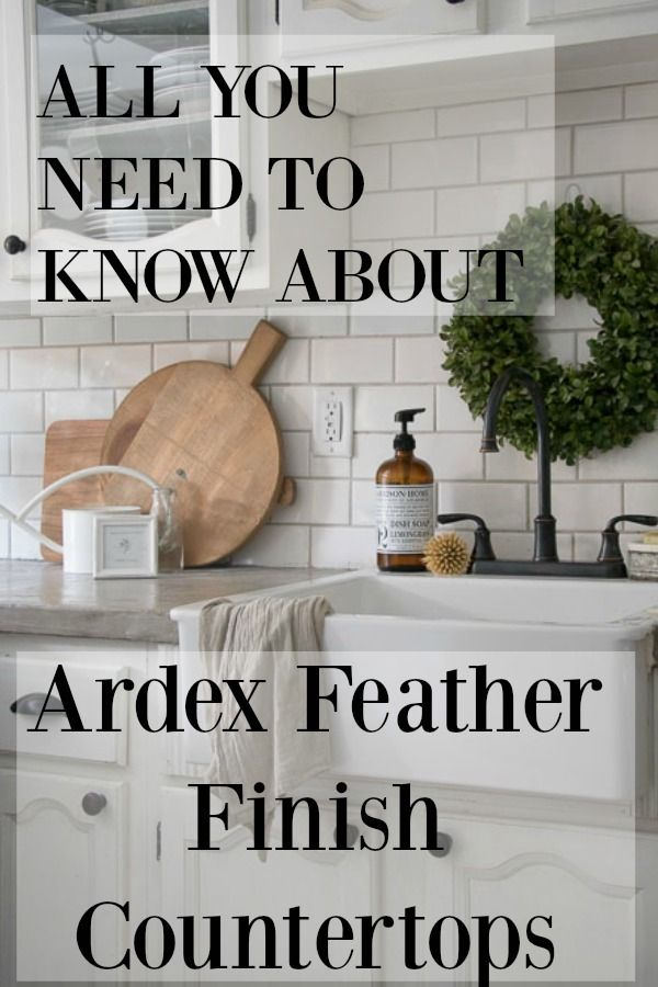 Concrete Countertops All You Need To Know About Ardex Feather