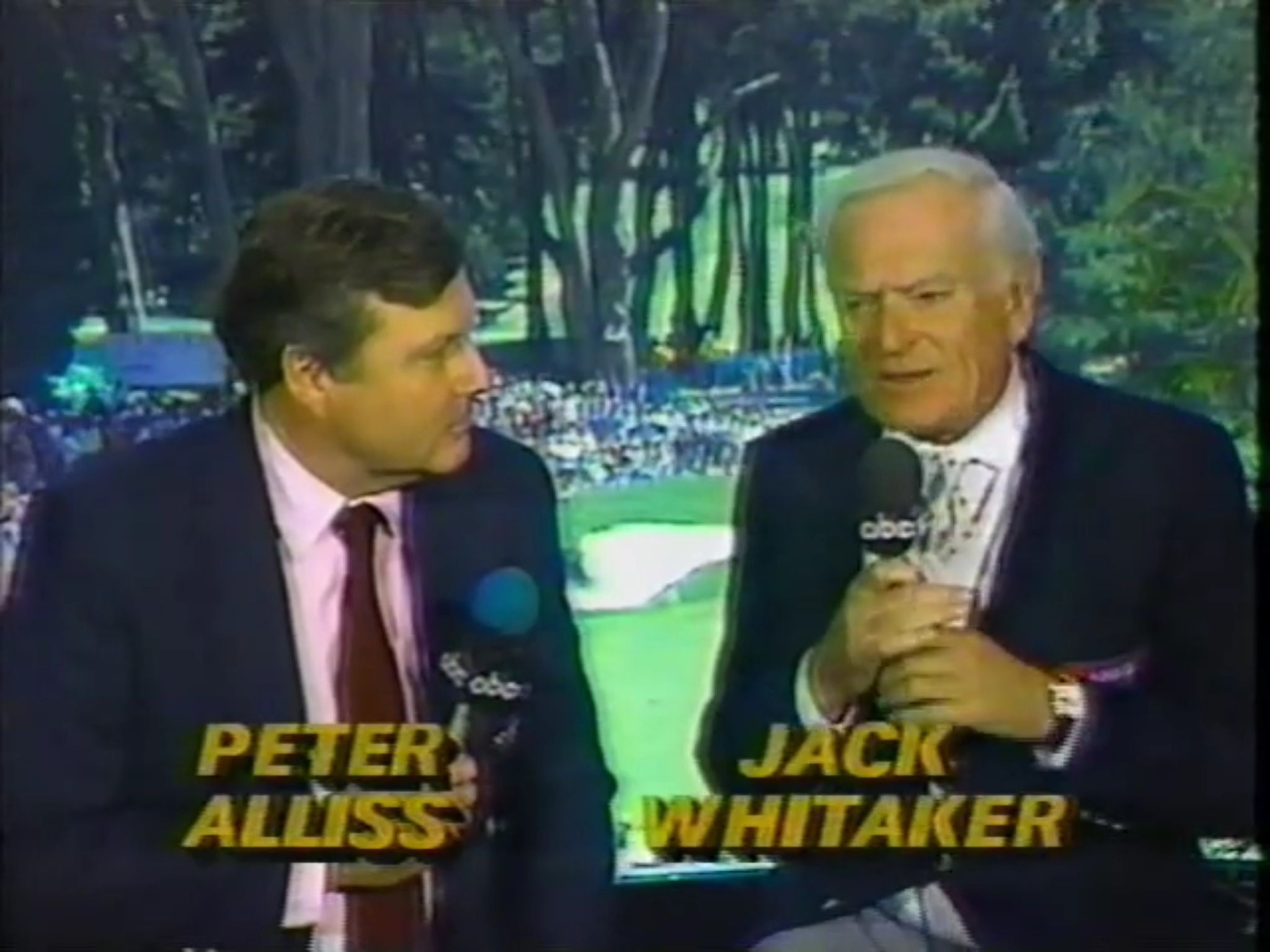 US Open, 1987 Masters golf, Me tv, My childhood
