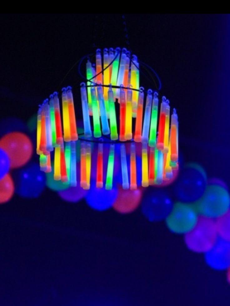 Glow stickljuskrona Glow stickljuskrona Party ideas for Alexa