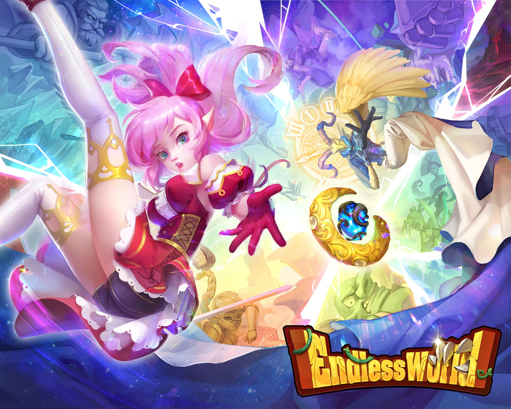 Endless World, a freetoplay 3D idle game with amazing