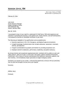 Cover Letter  Powerful    Cover Letter Example And