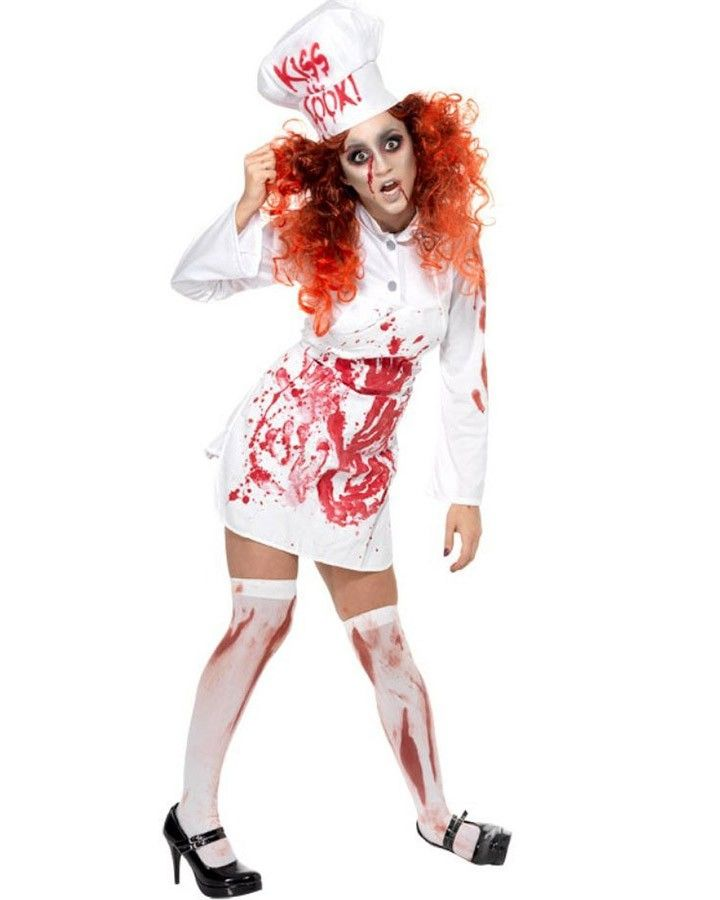 Bloody Chef Womens Costume Halloween Pinterest Costumes - zombie halloween ideas