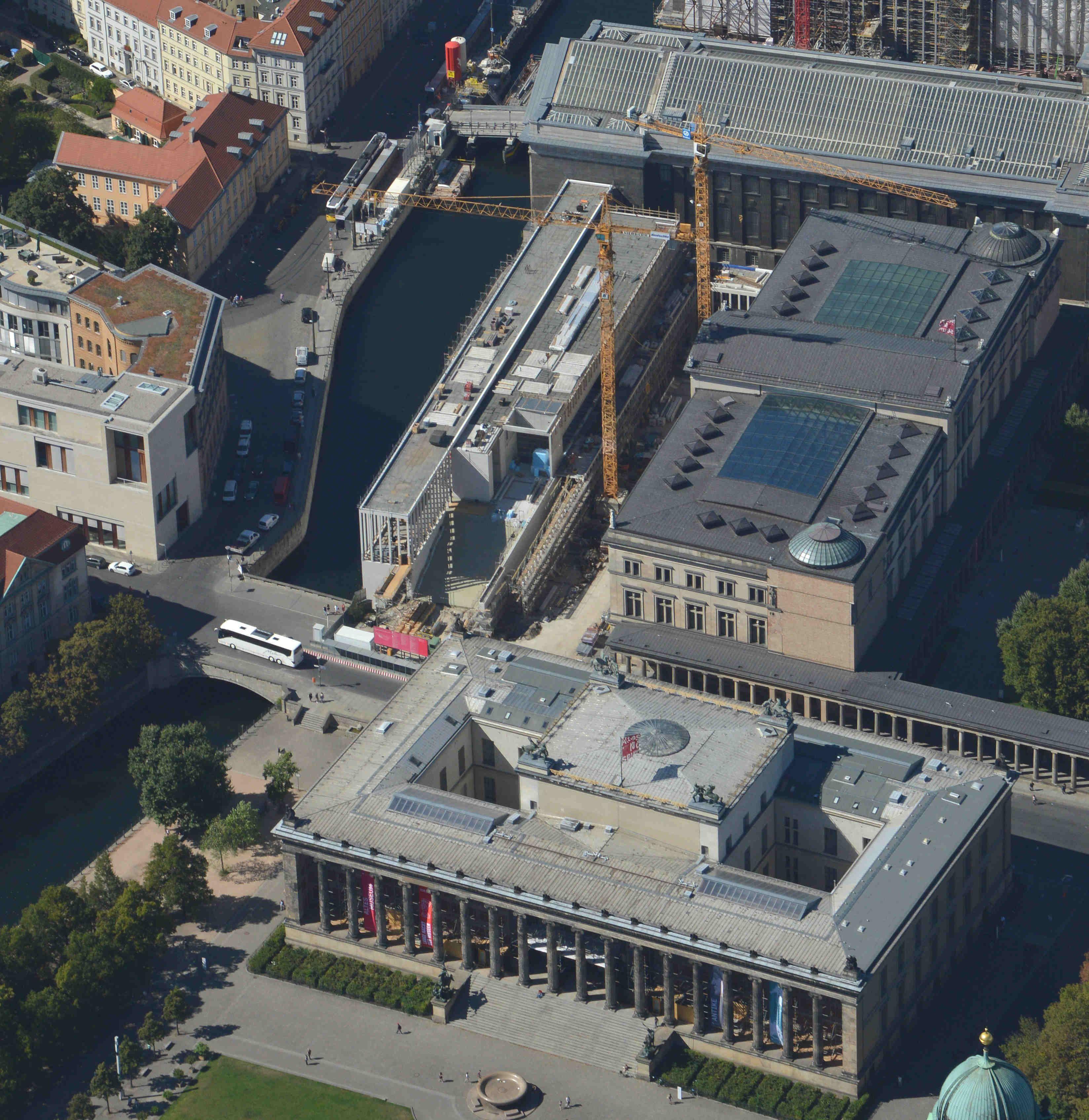 Diese Luftbilder Zeigen Den Berliner Spatsommer Von Oben Museum Insel Sommer Und Bilder