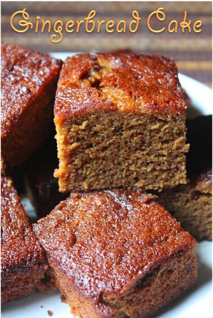 Jamaican Ginger Cake Recipe Nigella