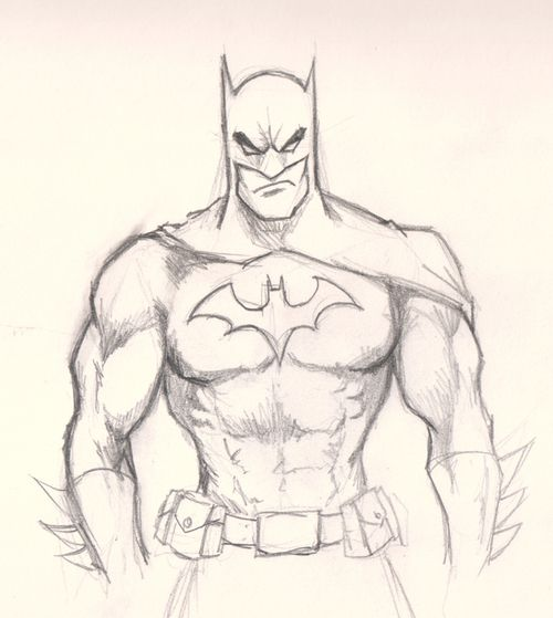 Very Cool Drawing Of Batman Star Wars Batman And My Geeky