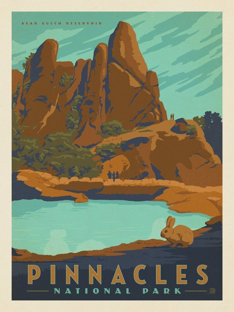 Anderson Design Group 60 American National Parks