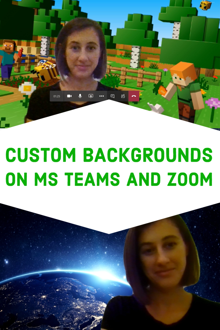 Custom Backgrounds On Microsoft Teams And Zoom Kids Online Learning Kids Fun Learning Learning Games For Kids