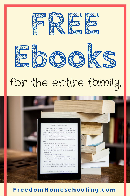 Free Ebooks Freedom Homeschooling in 2020 Free ebooks