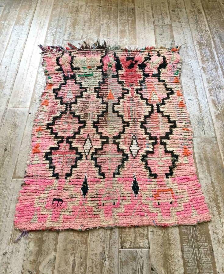 Moroccan Pink Bjaad Rug in Rugs from Wilson Stephens & Jones