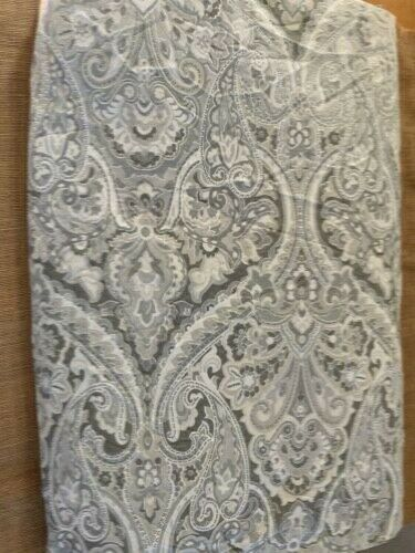 Pottery Barn Mackenna Paisley In Taupe Full Queen 86x90