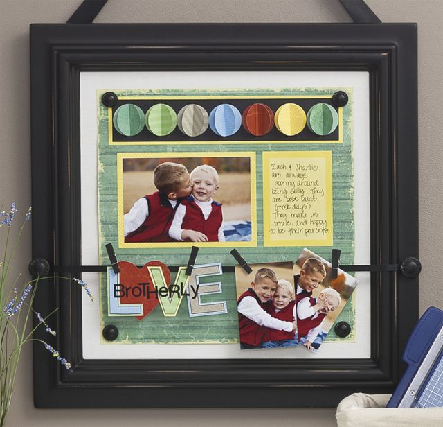 Use the CM Everyday Display for home, a graduation gift (put announcement and photo), or a great wedding/shower gift!