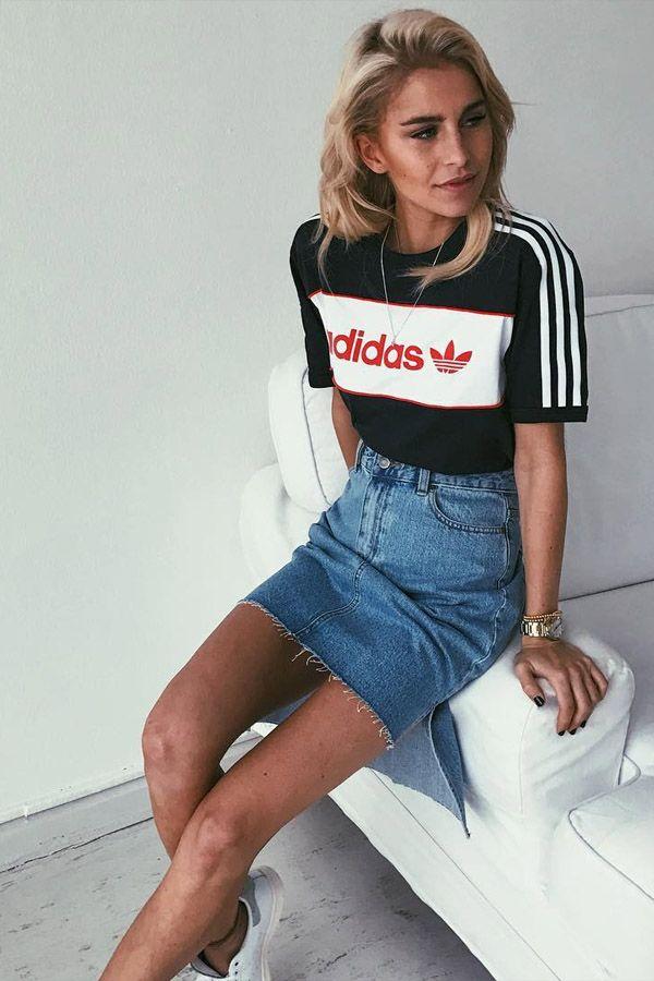 Looks com calça esportiva Adidas trend alert como usar