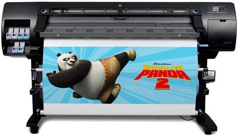 Impressora Plotter HP Designjet L26500 - Tinta Látex. Impressão Digital, Propaganda Política e Comunicação Visual. Utiliza tintas sem solventes e sem emissão de gases tóxicos