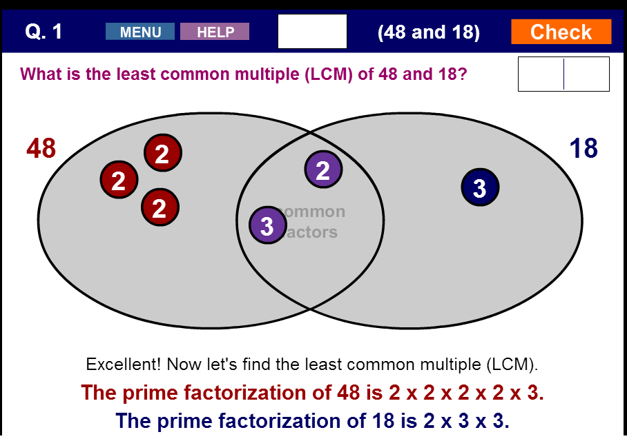 Factor Trees And Prime Factorization Prime Factorization Factor Trees Least Common Multiple