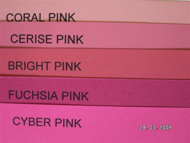 Shades Of Pink C Cerise And Bright Are All Orange Based Pinks Fuchsia Cyber Both Blue