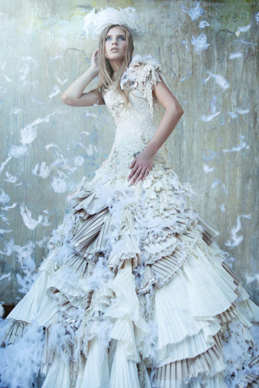 Nina Petrova for Imelda Kartini Lookbook. | Fashionably Haute ...