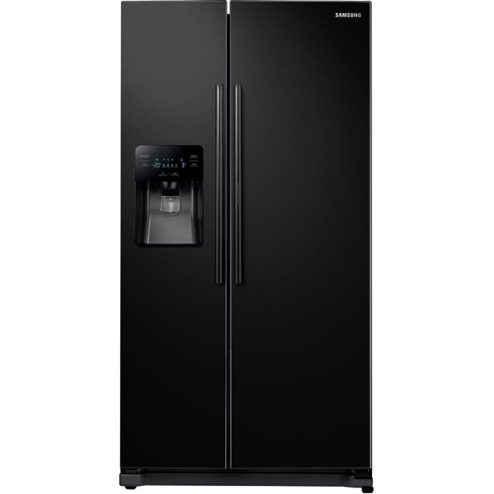Samsung - RH25H5611BC - Samsung 24.7 cu. ft. Side by Side ...